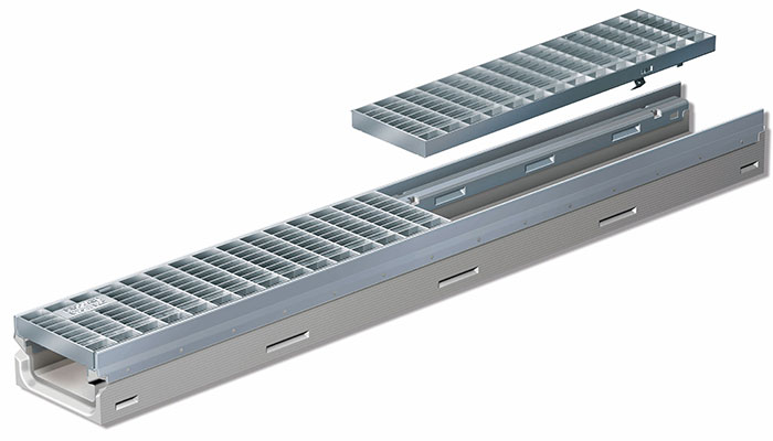 FILCOTEN Mini Shallow Trench drains